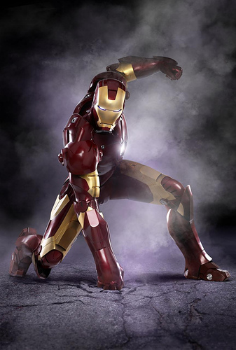 Iron Man en alta resolución